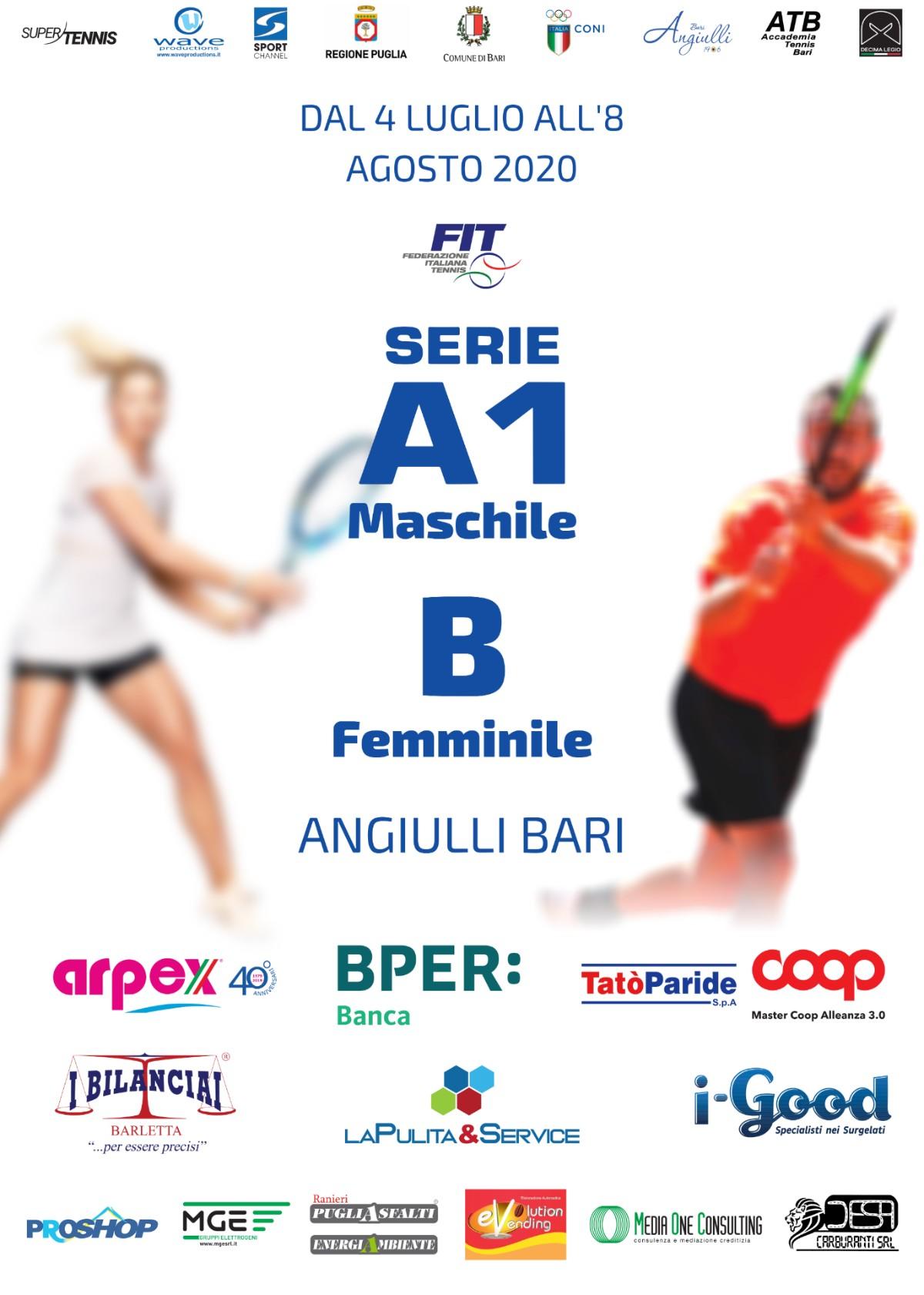 La Pulita Sponsor Seria A tennistica