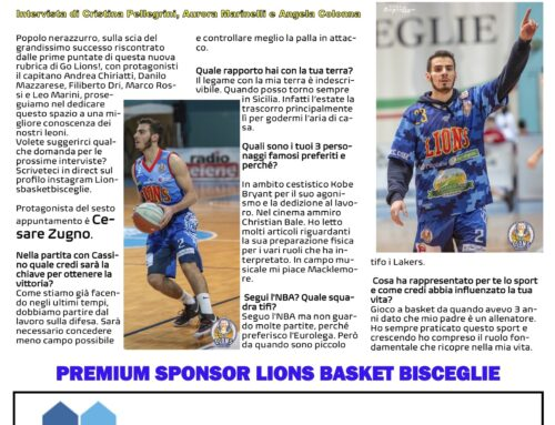 Partner dei Lions Bisceglie Basket