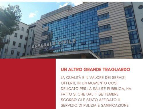 Dal 1° Settembre 2020 i nostri servizi all'ospedale di Andria